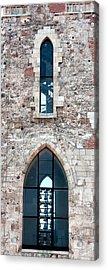 Church Windows Acrylic Print by Shirley Mitchell