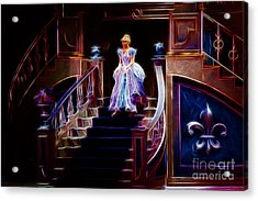 Cinderella Enters The Ball Acrylic Print by Darleen Stry