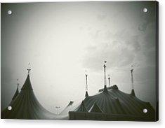 Circus Tent Acrylic Print by Copyright Lynn Longos