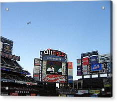 City Field At Queens Acrylic Print by Suhas Tavkar