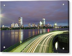 City Flow Acrylic Print by Eric Hill