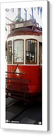 Urban Acrylic Print featuring the photograph Citymarks Lisbon by Roberto Alamino