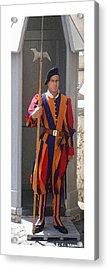 Citymarks Vatican Acrylic Print by Roberto Alamino