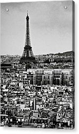 Cityscape Of Paris Acrylic Print by Sbk_20d Pictures
