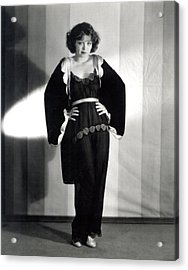 Clara Bow, Around 1929 Acrylic Print by Everett