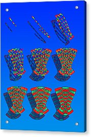Classical And Quantum Physics Acrylic Print by Eric Heller