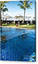 Clear Water Acrylic Print by Atiketta Sangasaeng