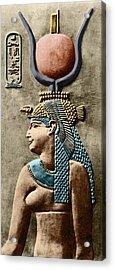 Cleopatra Vii Acrylic Print by Sheila Terry