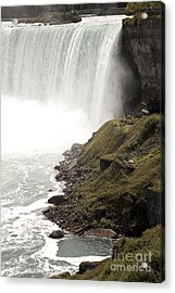 Close To The Falls Acrylic Print by Amanda Barcon