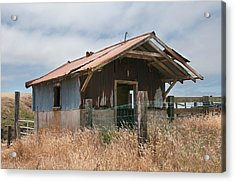 Closed For Inventory Acrylic Print by Kent Sorensen