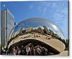 Cloud Gate - The Bean - Millennium Park Chicago Acrylic Print by Christine Till