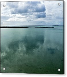 Cloud Reflections Acrylic Print by Kimberly Jansen Photography