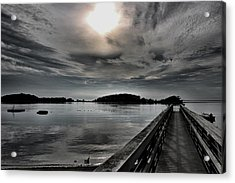 Cloud Unexpected Acrylic Print by Lori Cooney