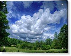 Clouds Acrylic Print by Matthew Green