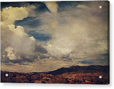 Clouds Please Carry Me Away Acrylic Print by Laurie Search
