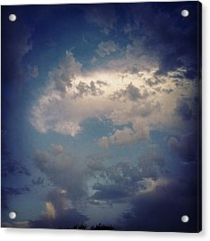 #clouds #sky #nature #andrography Acrylic Print by Kel Hill