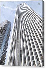 Cloudscraper Acrylic Print by Ann Horn