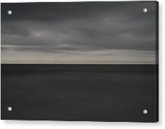 Cloudy Afternoon On Beach Acrylic Print by Catherine Lau