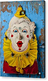 Clown Toy Game Acrylic Print by Garry Gay