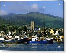 Co Kerry, Dingle Harbour Acrylic Print by The Irish Image Collection