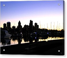 Coal Harbour Acrylic Print by Will Borden
