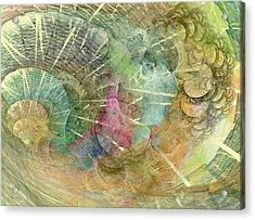 Coastal Cosine Gem  Acrylic Print by Betsy Knapp