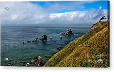 Coastal Look Acrylic Print by Robert Bales
