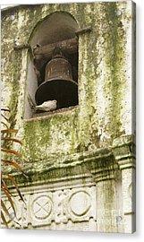Coban Church Bell Acrylic Print by John  Mitchell