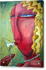 Cocktail Hour Acrylic Print by Charlie Spear