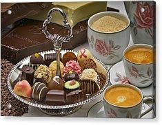 Coffee And Chocolates Acrylic Print by Frank Lee