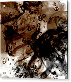 Coffee Acrylic Print by Erick Rodriguez