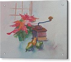 Coffee Mill  Acrylic Print by Jann Elwood