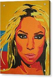 Colombiana Acrylic Print by Adrienne S