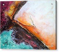 Color Energy Acrylic Print by VIAINA Visual Artist