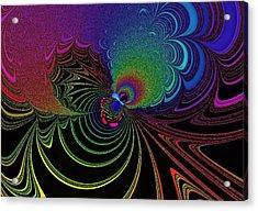 Color Image Acrylic Print by Mozhgan Vakili
