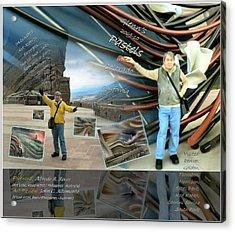 Colorado-california Art Book Cover Acrylic Print by Glenn Bautista