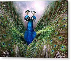 Colorful Friendship Acrylic Print by Bill Stephens