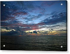 Colors Of The Predawn Acrylic Print by Ken  Collette