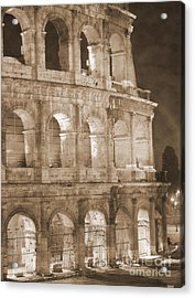 Colosseum Acrylic Print by Stefano Senise