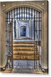 Come On In Acrylic Print by Steev Stamford