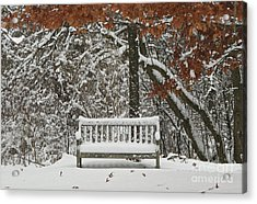 Come Sit Awhile Acrylic Print by Inspired Nature Photography Fine Art Photography
