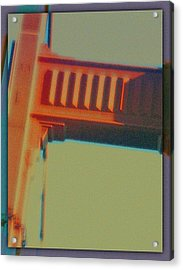 Acrylic Print featuring the digital art Coming In by Richard Laeton