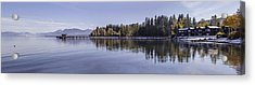 Commons Beach Lake Tahoe Acrylic Print by Brad Scott