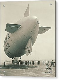 Commuter Flight 1940 Acrylic Print by Padre Art