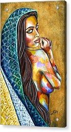 Concubine Acrylic Print by Jorge Namerow