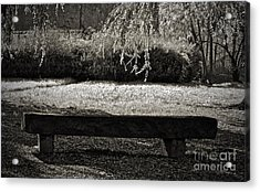 Concurrence Of Causes Acrylic Print by Gwyn Newcombe
