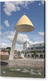 Contemporary Fountain Acrylic Print by Jaak Nilson