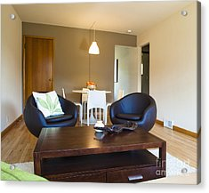 Contemporary Living Room Furniture Acrylic Print by Inti St. Clair