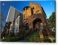 Contrast In Architecture Acrylic Print by Sven Brogren