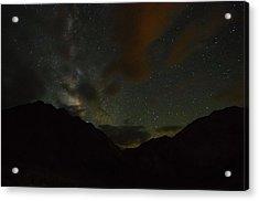 Convict Lake Milky Way Galaxy Acrylic Print by Scott McGuire